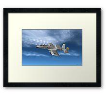 Fairchild Republic A-10 Thunderbolt II Framed Print