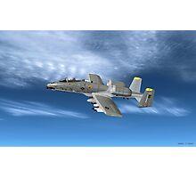 Fairchild Republic A-10 Thunderbolt II Photographic Print