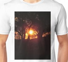 Sunset in the olives Unisex T-Shirt