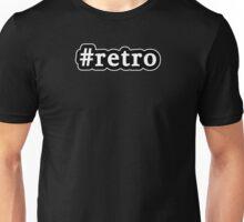 Retro - Hashtag - Black & White Unisex T-Shirt