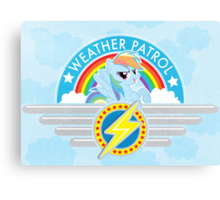 Weather Patrol Canvas Print