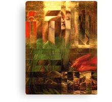 Rossetti Tetris. Canvas Print