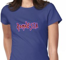 Romnesia Obama Coins Mitt Romney  Womens Fitted T-Shirt