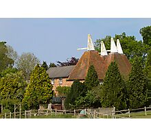 Oast House conversion Photographic Print