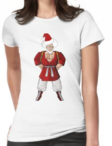 Mr satan Mr santa Womens Fitted T-Shirt