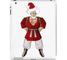 Mr satan Mr santa iPad Case/Skin