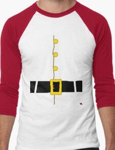 Halloween costume Santa suit ho ho ho  Men's Baseball ¾ T-Shirt