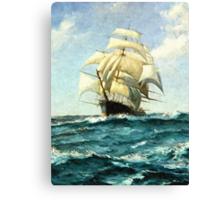 Crossing the Ocean Canvas Print