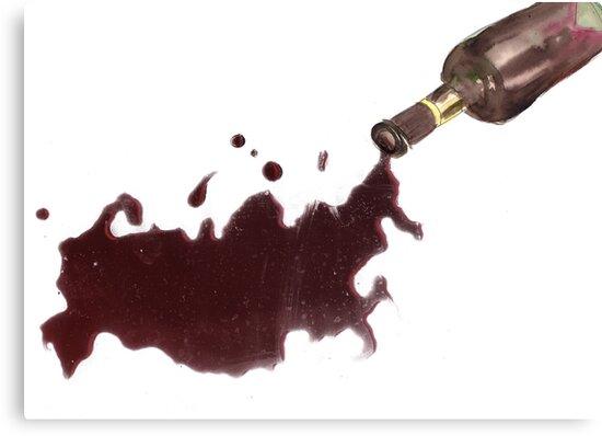 Wine Map Of Russia by teaandink