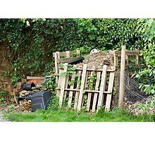 Garden Compost Heap Photographic Print