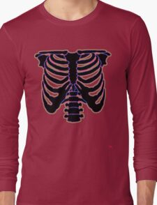 HALLOWEEN COSTUME RIB CAGE Long Sleeve T-Shirt
