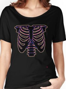 HALLOWEEN COSTUME RIB CAGE Women's Relaxed Fit T-Shirt
