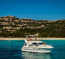 yacht in Sardinia, Italy by gielle