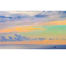 the sky in its best mood Photographic Print
