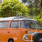 trusty old vw campervan by martinberry