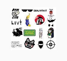 Thug life collage Unisex T-Shirt