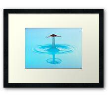 Red Sombrero Framed Print