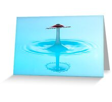 Red Sombrero Greeting Card