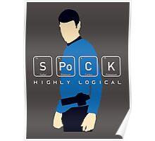 Highly Logical Spock V2 Poster