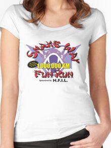 Snake Way Fun Run Women's Fitted Scoop T-Shirt