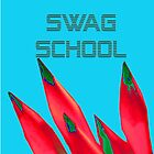 Swag School Blue Case  by EducatedTruth