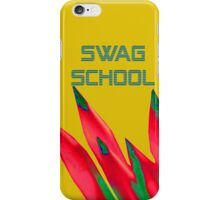 Swag School Gold Case iPhone Case/Skin