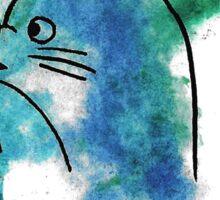 Studio Ghibli Totoro watercolour Sticker