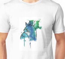 Studio Ghibli Totoro watercolour Unisex T-Shirt