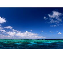 MCC Great Barrier Reef Photographic Print