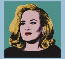 Adele Pop Art -  #adele  One Piece - Short Sleeve