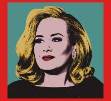 Adele Pop Art -  #adele  One Piece - Short Sleeve