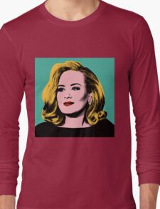 Adele Pop Art -  #adele  Long Sleeve T-Shirt