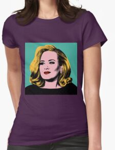Adele Pop Art -  #adele  Womens Fitted T-Shirt