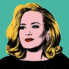 Adele Pop Art -  #adele  by jaffrywardjr