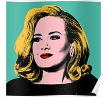 Adele Pop Art -  #adele  Poster