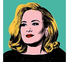 Adele Pop Art -  #adele  Photographic Print