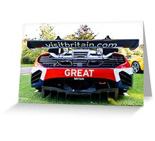 Visit Britain; and buy your very own Maclaren  Greeting Card