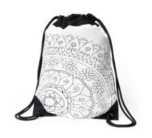Mandala dream Drawstring Bag