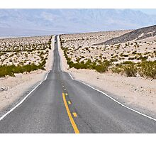 Badwater Road in Death Valley Photographic Print