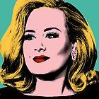 Adele Pop Art -  #adele  by jaffrywardjr