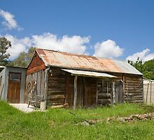 old gold mining town by martinberry