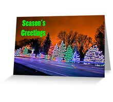 Season's Greetings Greeting Card