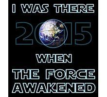 The Force Awakened 2015 Photographic Print