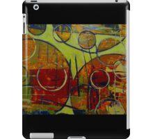 Rounding Spot Green iPad Case/Skin