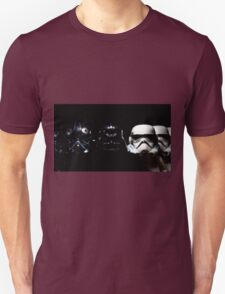 By Air, By Land Or A Hidden Force Unisex T-Shirt