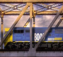 Pacific National - Rail Bridge, Murray Bridge, Murraylands by Mark Richards