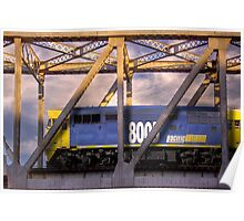 Pacific National - Rail Bridge, Murray Bridge, Murraylands Poster