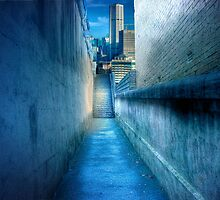 Alleyway - Darlinghurst, Sydney, New South Wales by Mark Richards