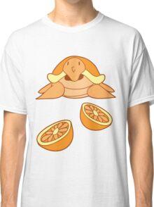 Orange Citrus Turtle Classic T-Shirt