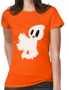 Stitched Mouth Blankey Ghost Womens Fitted T-Shirt